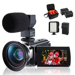 4K Camcorder Vlogging Video Camera for YouTube