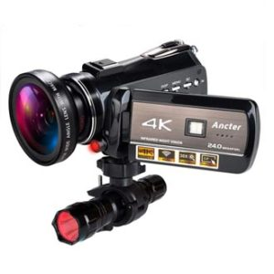 K Wifi Full Spectrum Camcorders, best mirrorless camera for music videos, good camera for music videos