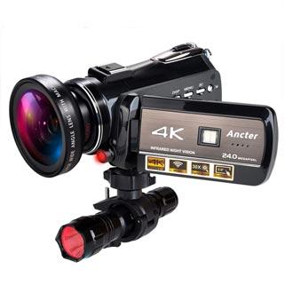 K Wifi Full Spectrum Camcorders