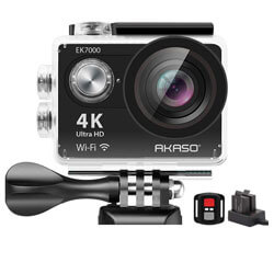 AKASO EK7000 4K WiFi Sports Action Camera, action cameras under 100