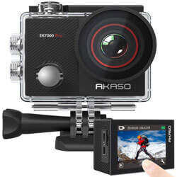 AKASO EK7000 Pro 4K Action Camera, best affordable action camera