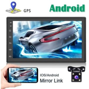 Android Car Stereo GPS Navigation 2 Din Bluetooth Backup Camera