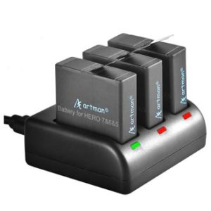 Artman Rechargeable Battery, gopro battery replacement, battery for gopro
