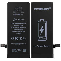 BESTMARS Battery Compatible for iPhone 6, best iphone 6 replacement battery