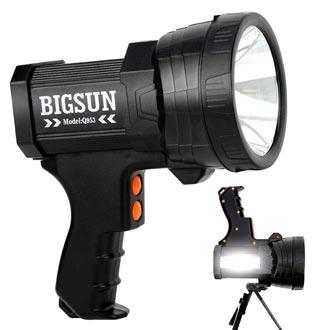 BIGSUN Q953 10000mAh Rechargeable Spotlight