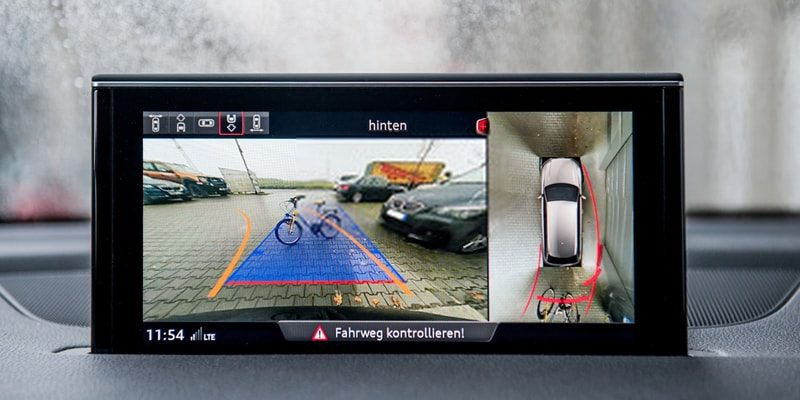 best gps with backup camera