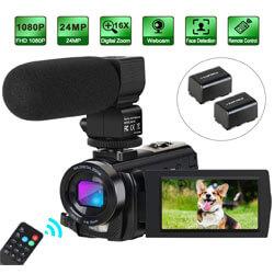 Digital YouTube Vlogging Camera, Camcorder Video Camera