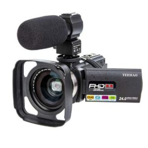 Camcorder Video Camera YEEHAO, good camera for music videos, best video camera for recording live music