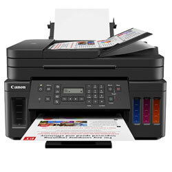 Canon PIXMA G7020 Wireless All-in-One Supertank Printer