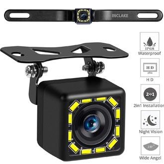 how to install night vision backup camera