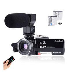 CofunKool Camcorder, WiFi Vlogging Camera for YouTube