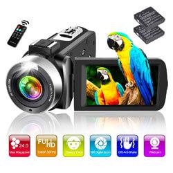 Digital Zoom Vlogging Camera for YouTube