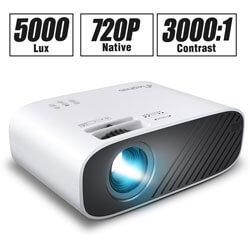 ELEPHAS Mini Movie Projector, Best Video Projector Under 200