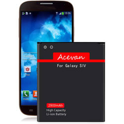 Acevan Galaxy S4 Replacement Battery, replacement battery for samsung galaxy s4