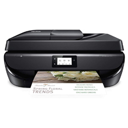 HP OfficeJet 5255, best rated wireless printers for home