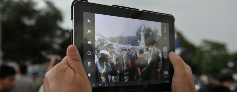 How to Use iPad Camera