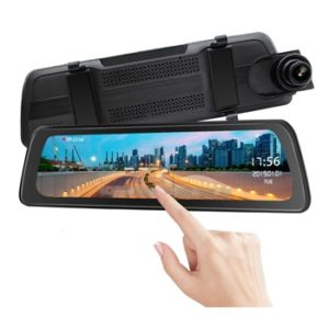 Dual View Full Touch Mirror Dash Cam