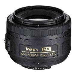 Nikon AF-S DX Nikkor 35mm Lens, lenses for nikon d7200, best portrait lens for nikon d7200