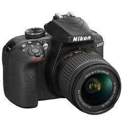 Nikon D3400 DSLR Camera with AF-P DX NIKKOR
