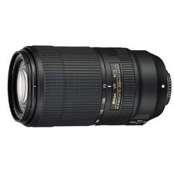 Nikon AF-P NIKKOR 70-300mm f/4.5-5.6E ED VR Fixed Zoom Digital Slr Camera Lens