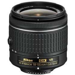 Nikon 18-55mm Wide Angle Zoom Lens
