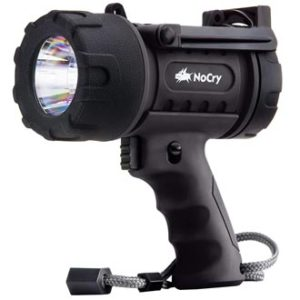 NoCry 18W Waterproof Rechargeable Flashlight