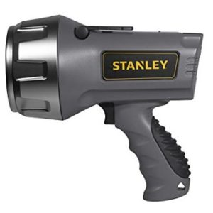 STANLEY SL5HS Rechargeable Flashlight, battery powered handheld spotlight