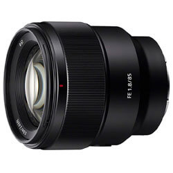 Sony Telephoto Fixed Prime Camera Lens