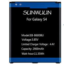Sunwuun Galaxy S4 Replacement Battery, best battery replacement for galaxy s4