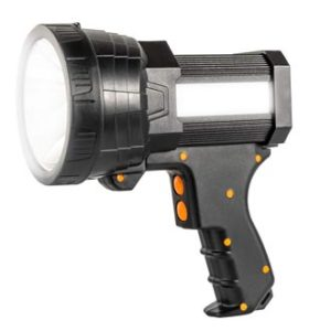 Super Bright Handheld Flashlight , portable rechargeable spotlight, best rechargeable spotlight reviews