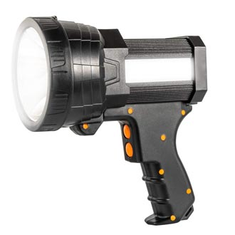 Super Bright Handheld Flashlight Rechargeable Marine Spotlight