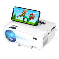 TOPVISION Projector, Best Gaming Projector Under 200