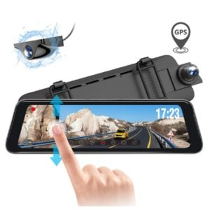 Vantrue M1 Mirror Dash Camera with GPS