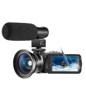 Video Camera 1080P Camcorder CofunKool 24.0MP Vlogging Camera for YouTube