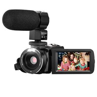 Video Camera Camcorder , Aitechny Vlogging Camera