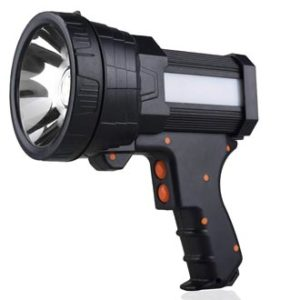 YIERBLUE Rechargeable spotlight, best spotlight for long distance, rechargeable spotlights reviews