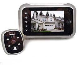 best security peephole camera