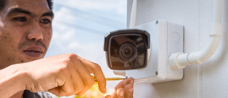 how to power wireless security cameras, how to install security camera wiring